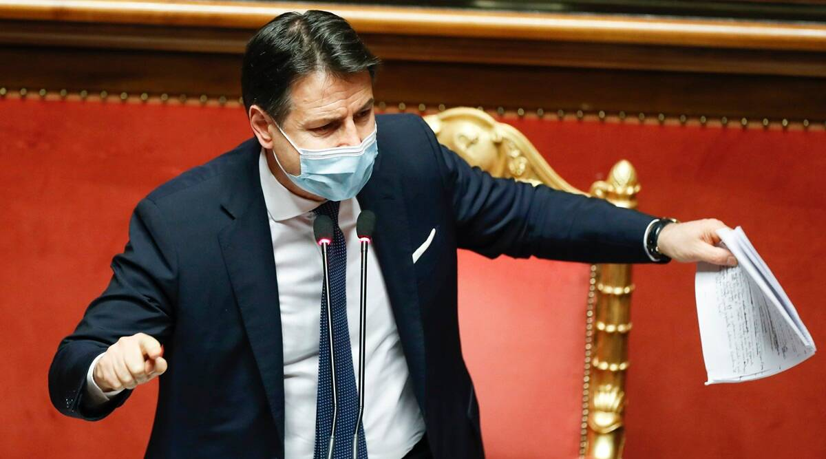 Italian PM wins crucial vote in Senate with very thin margin