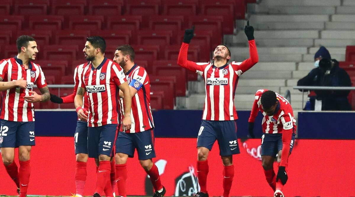 Atletico Madrid beats Sevilla 2-0 to extend Spanish league lead   Sports  News,The Indian Express
