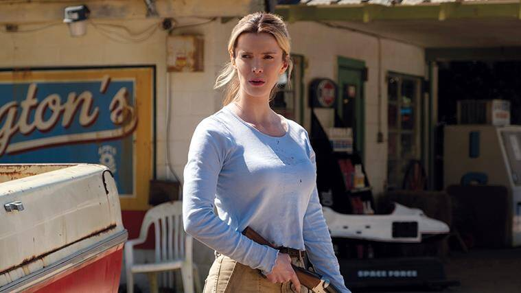 Betty Gilpin, the hunt