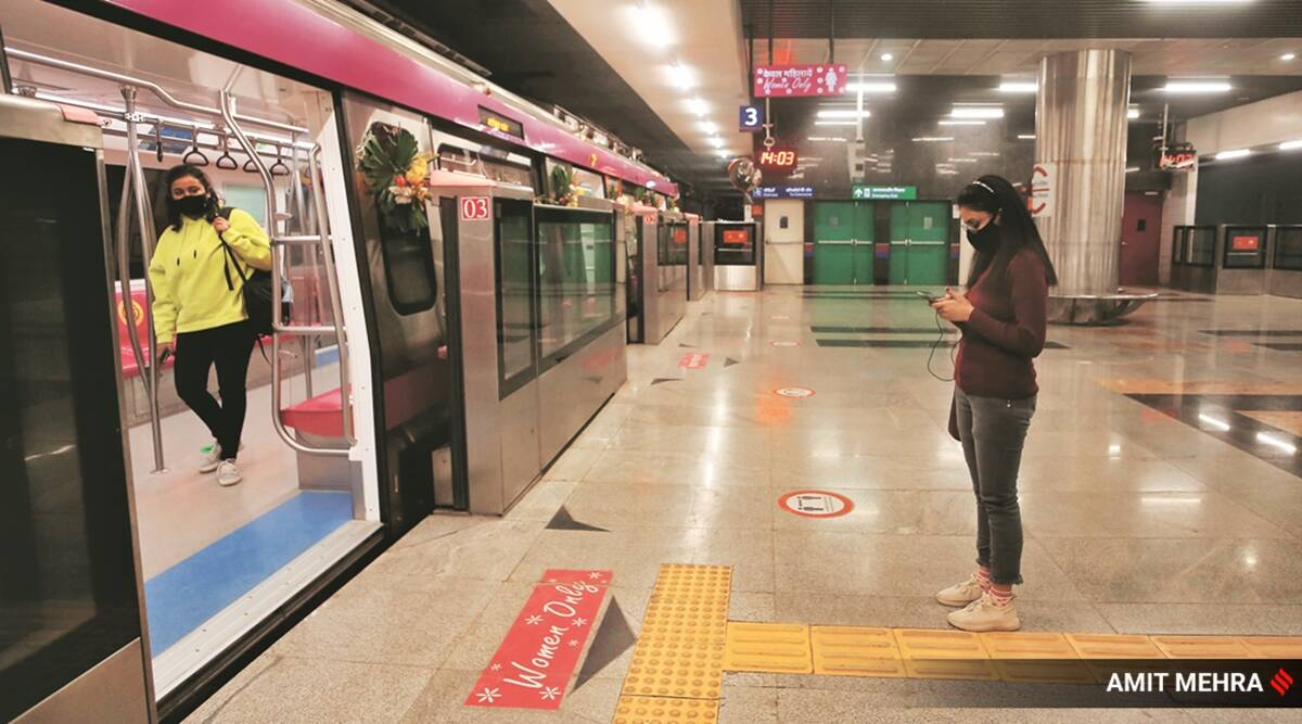 During off time, Delhi Metro prepped for the long haul