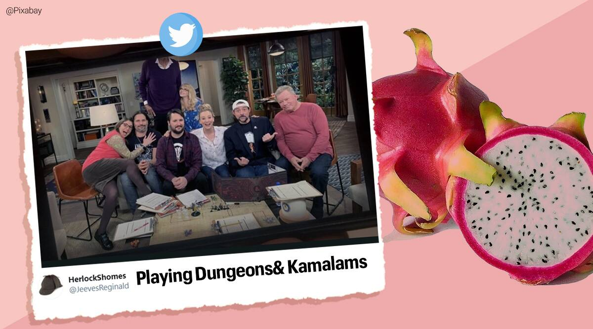 Dragon fruit, Kamalam, Kamalam replace Dragon fruit, Dragon fruit new name, Gujarat government dragon fruit new name, Dragon Fruit new name memes, Dragon Fruit memes, Kamalam memes, Trending news, Indian Express news