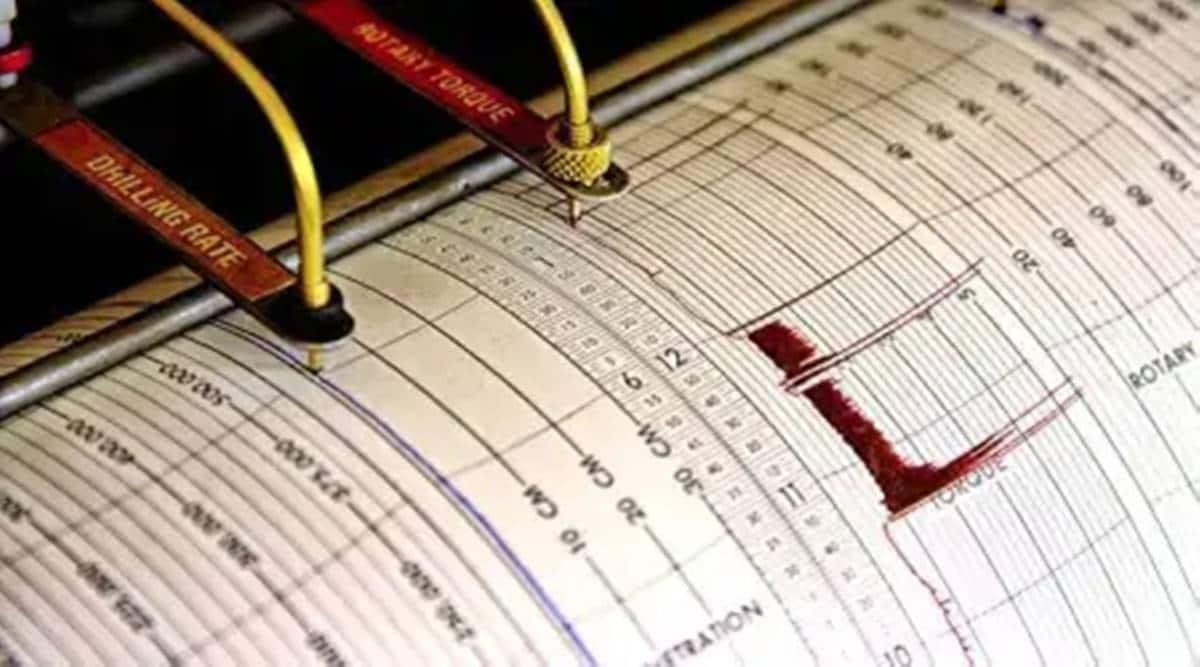 japan earthquake, Tokyo news, US Geological Survey, Japan news, japan earthquake magnitude, Miyagi prefecture, Miyagi earthquake, world news, indian express world news