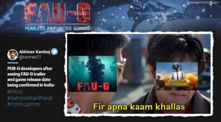FAU-G, FAU-G games, FAU-G release date, FAU-G launch, FAU-G anthem, FAU-G game in India, FAU-G game memes, Akshay Kumar, PUBG alternative, PUBG launch, FAU-G and PUBG memes, FAU-G game registration, Trending news, Indian Express news