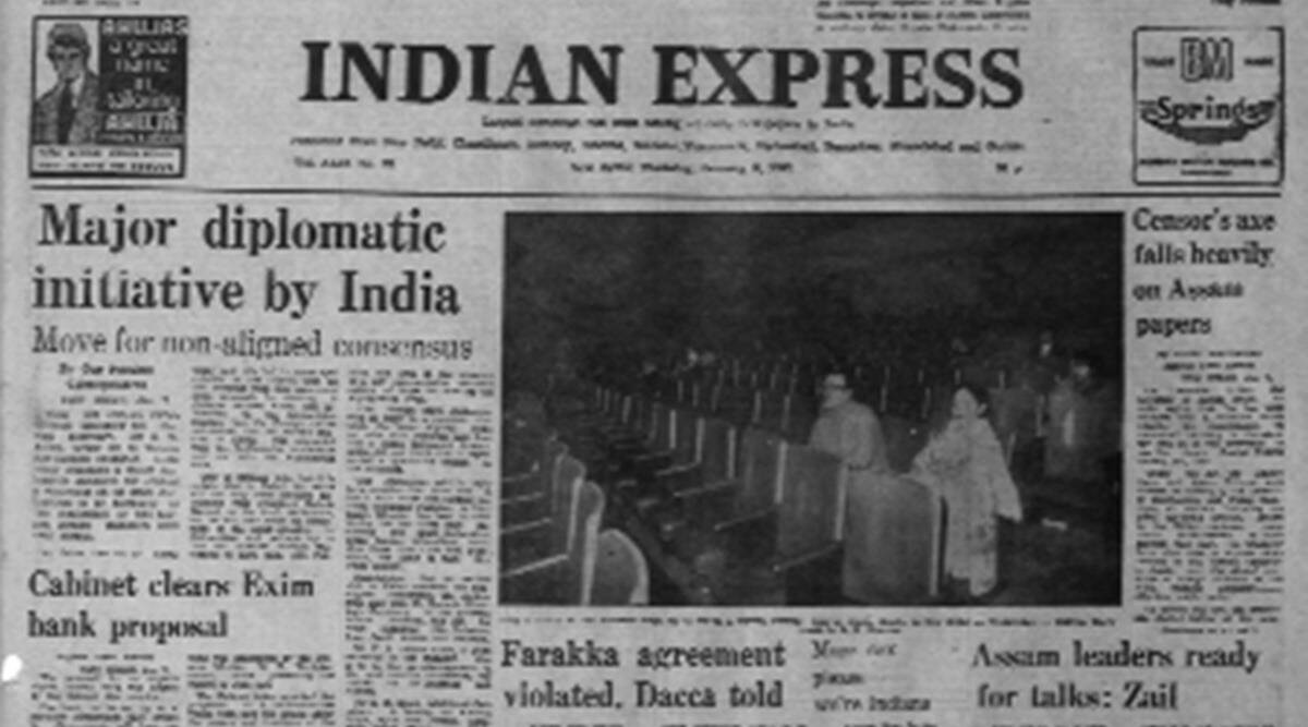 Non-Aligned movement, NAM, Non-Aligned Countries, RD Sathe, forty years ago Indian Express, Indian Express forty years ago, Indian Express Editorial