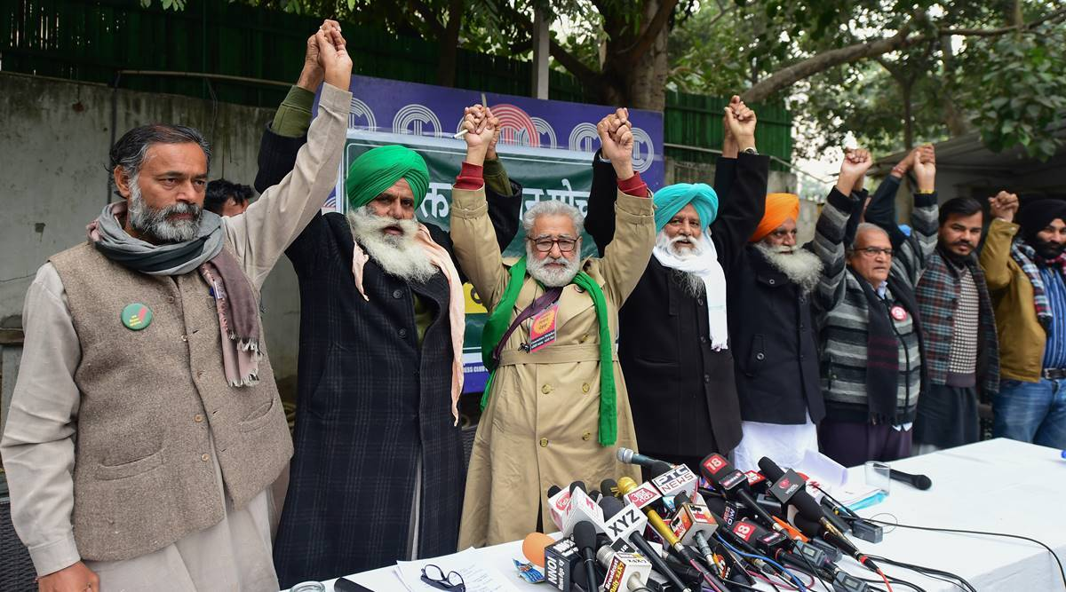 Farmers protest, Farmers tractor march on jan 26, Jan 26 farmers protests, Farm unions call for tractor parade, Republic day, India news, Indian express