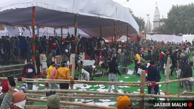 Haryana: Haryana CM Khattar's event in limbo after protests turn violent at rally venue