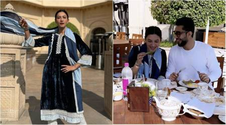 Gauahar Khan honeymoon