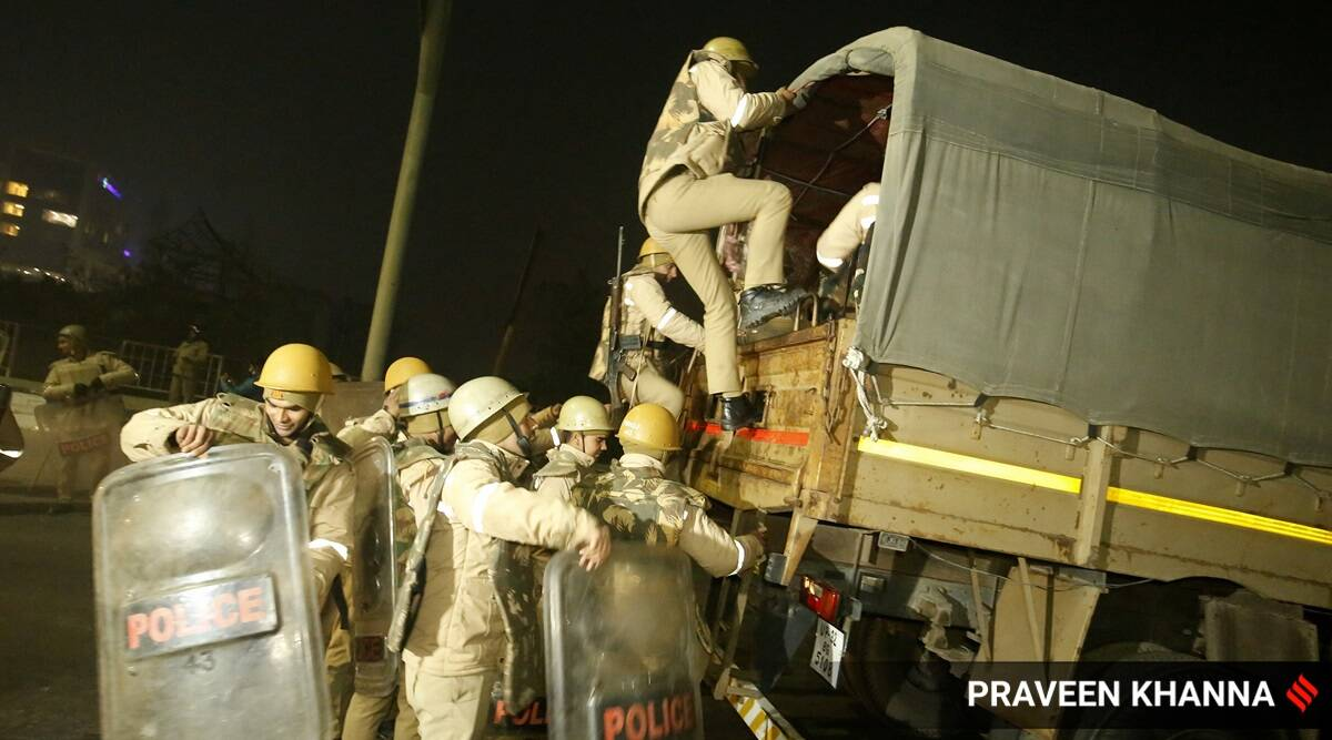 A night at the protest site: How Ghazipur, facing ultimatum, came out of Singhu shadow overnight