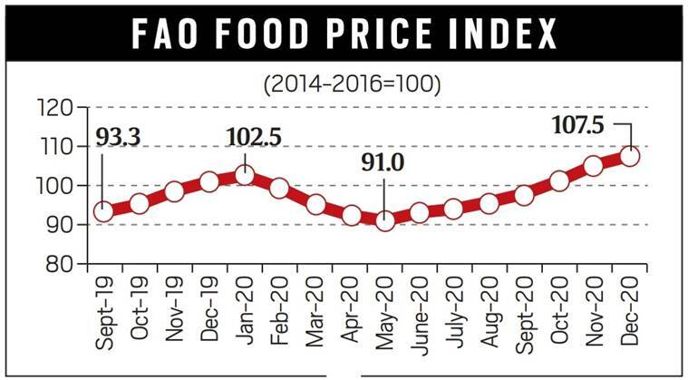 Food inflation, Food price hike, Reserve Bank of India, GDP growth, Indian Economy, National Statistical Office, food inflation, Food Price Index, indian express news