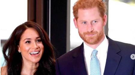 Prince Harry and Meghan Markle, Duke and Duchess of Sussex, Duke and Duchess of Cambridge, Prince William and Kate Middleton, royal family news, UK, indian express news