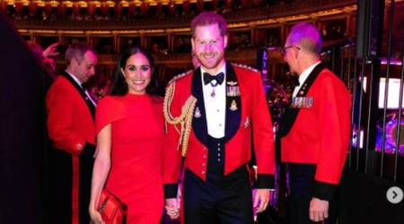 Meghan Markle, UK royal, Duchess of Sussex, UK royal family, indian express news