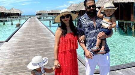 KGF star Yash's Maldives vacation 13 photos