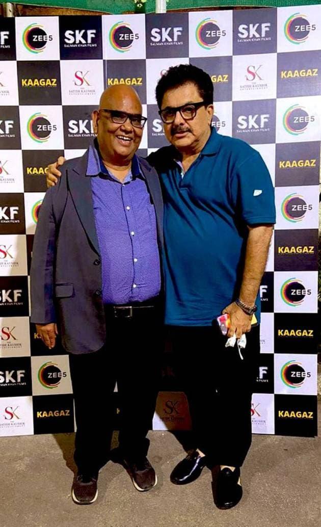 ashoke pandit with satish kaushik