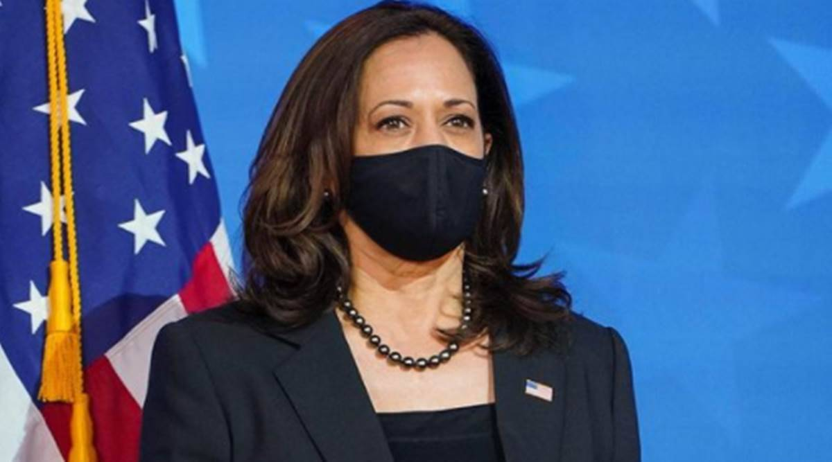 Kamala Harris, Kamala Harris style, Kamala Harris news, Kamala Harris inauguration day, Kamala Harris pearls, Kamala Harris shoes, indian express news