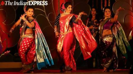 Lavani, Lavani dance form, Lavani dancers, what is Lavani, Lavani dance pictures, Lavani dance form Maharashtra, Lavani dancers performing, Lavani in pandemic, indian express news
