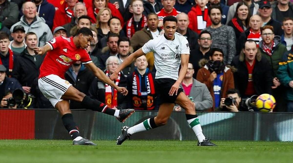 Liverpool fans complain at timing of half-time whistle in Man Utd draw
