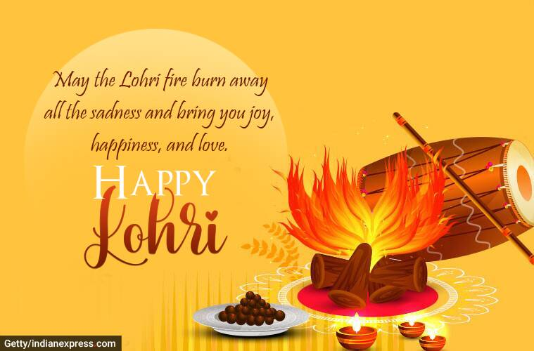 Happy Lohri 2021: Wishes Images, Status, Quotes, Messages ...