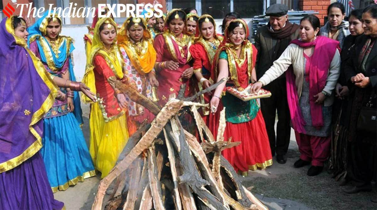 Lohri 2021, Lohri 2021 celebrations, Lohri 2021 at home, Lohri at home, home celebrations, safe Lohri 2021 celebrations, indian express news