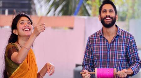 Sai Pallavi and Naga Chaitanya in Love Story