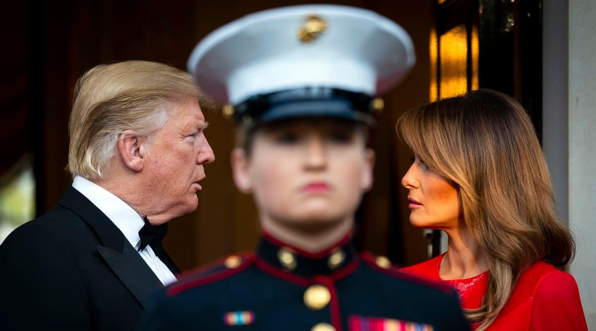 Melania Trump, Donald Trump, First Lady, US news, world news, Indian Express