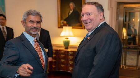 S Jaishankar, Mike Pompeo, India US relations