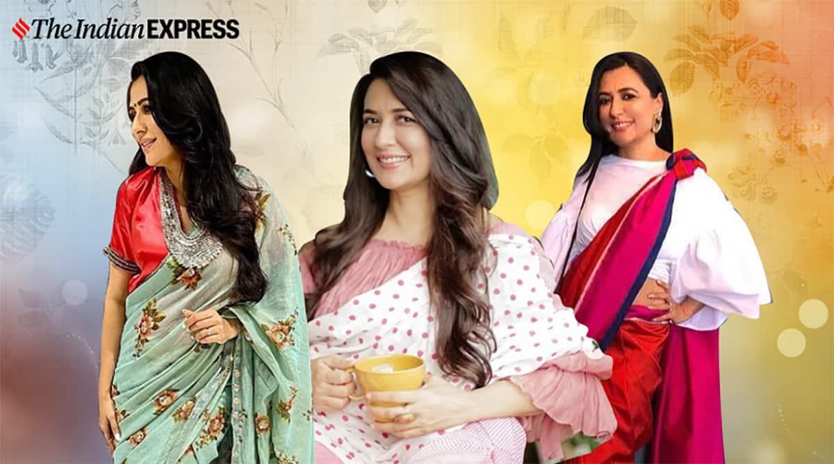 Mini Mathur in saris: An elegant affair