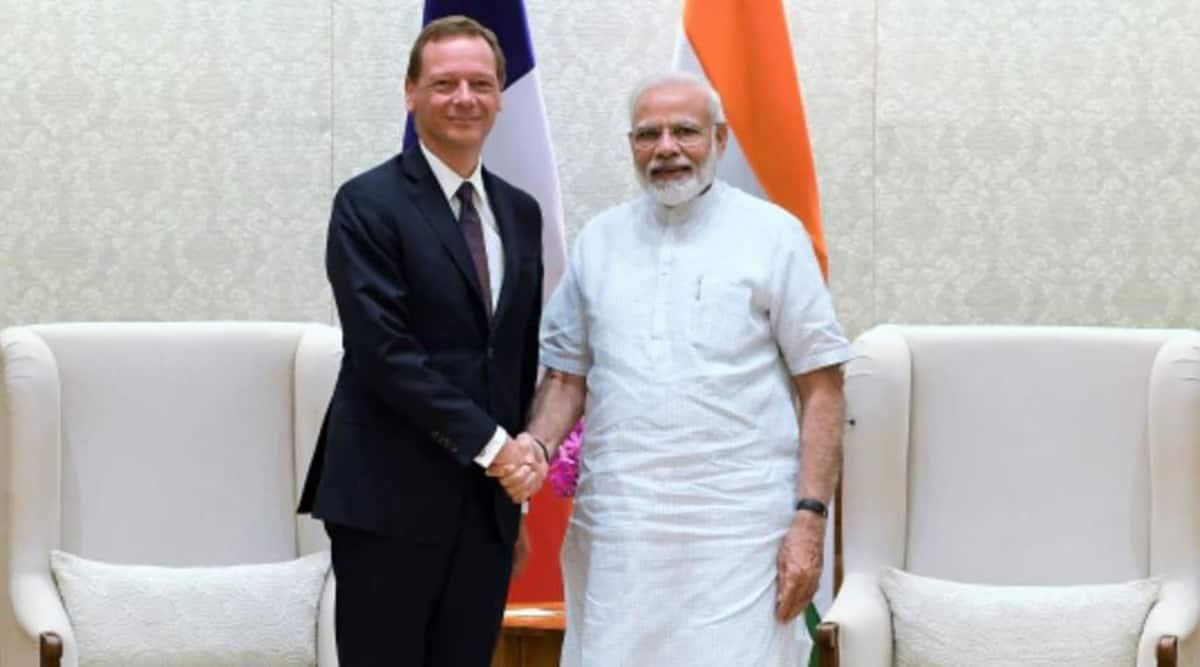 Emmanuel Bonne, Emmanuel Bonne in India, France on Kashmir, France at UNSC, Indian Express