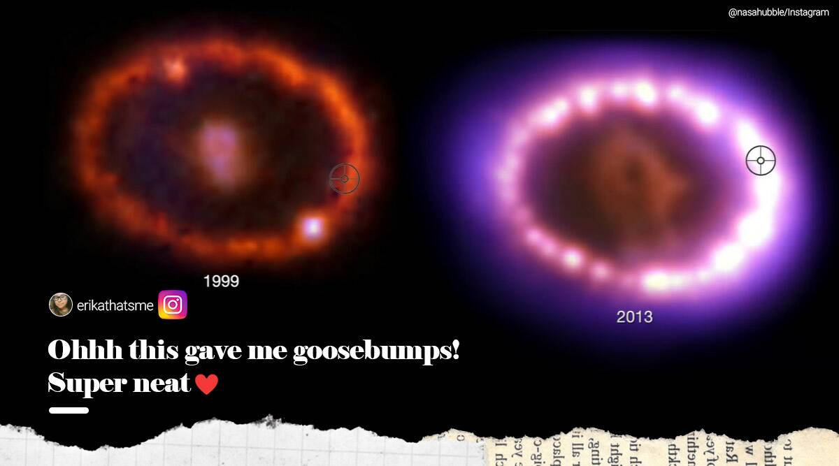 NASA's sonification video of supernova leaves netizens mesmerised - The Indian Express