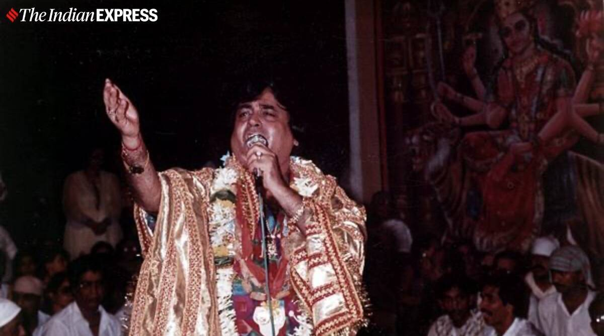 Narendra Chanchal passes away, Narendra Chanchal dies, jaagran singer, bhajan singer passes away, Indian express news