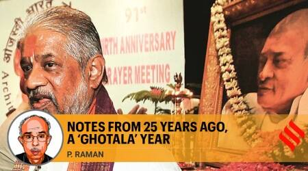 1995-96 scam year, Chandraswami, year of scams, sugar import scam, telecom scandal, godman Chandraswami, P V Narasimha Rao, Indian express opinion