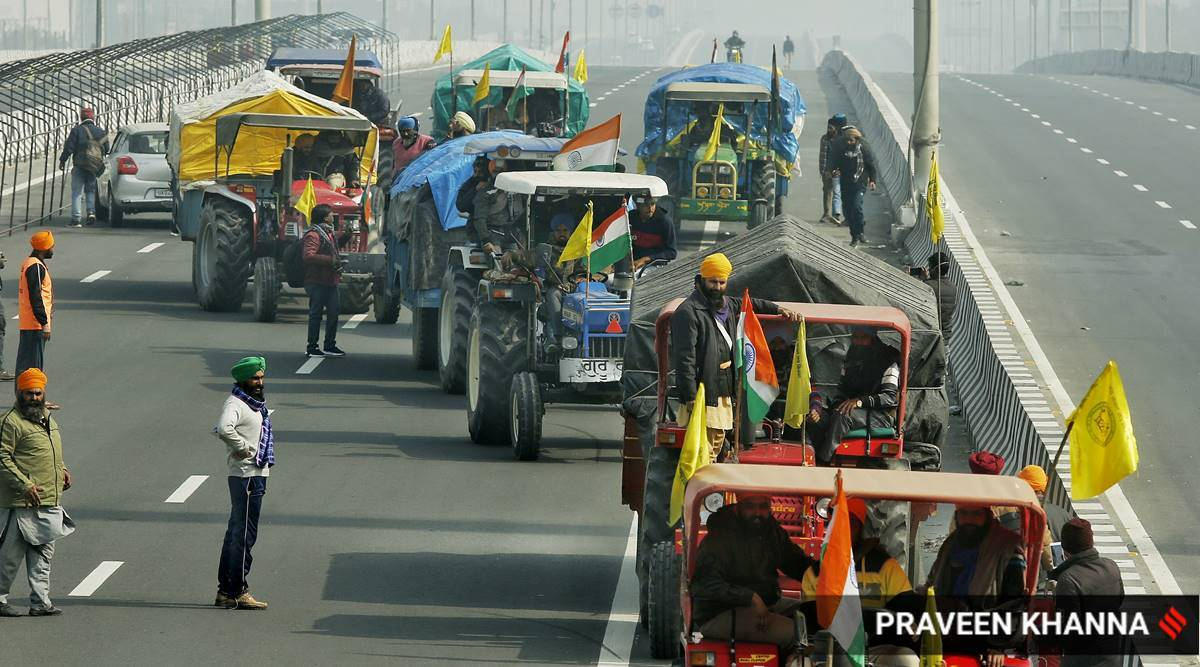 Farmers can enter Delhi for R-day tractor rally, to stay near borders