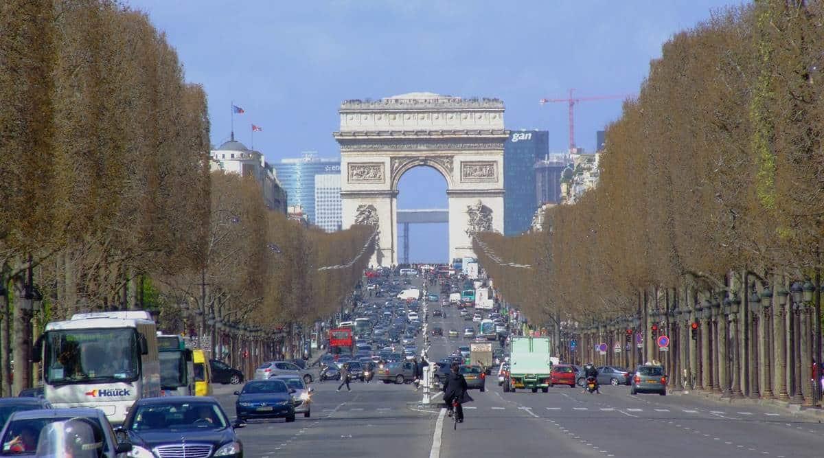 Champs-Élysées, Champs-Élysées in Paris, Champs-Élysées to become a garden, Champs-Élysées revamp project, Paris, indian express news