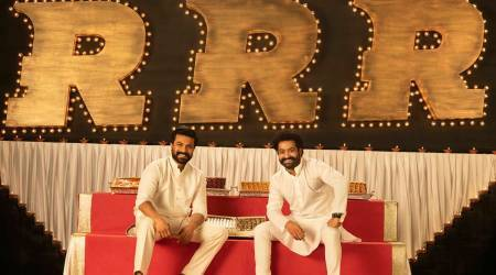 RRR stars Ram Charan and Jr NTR