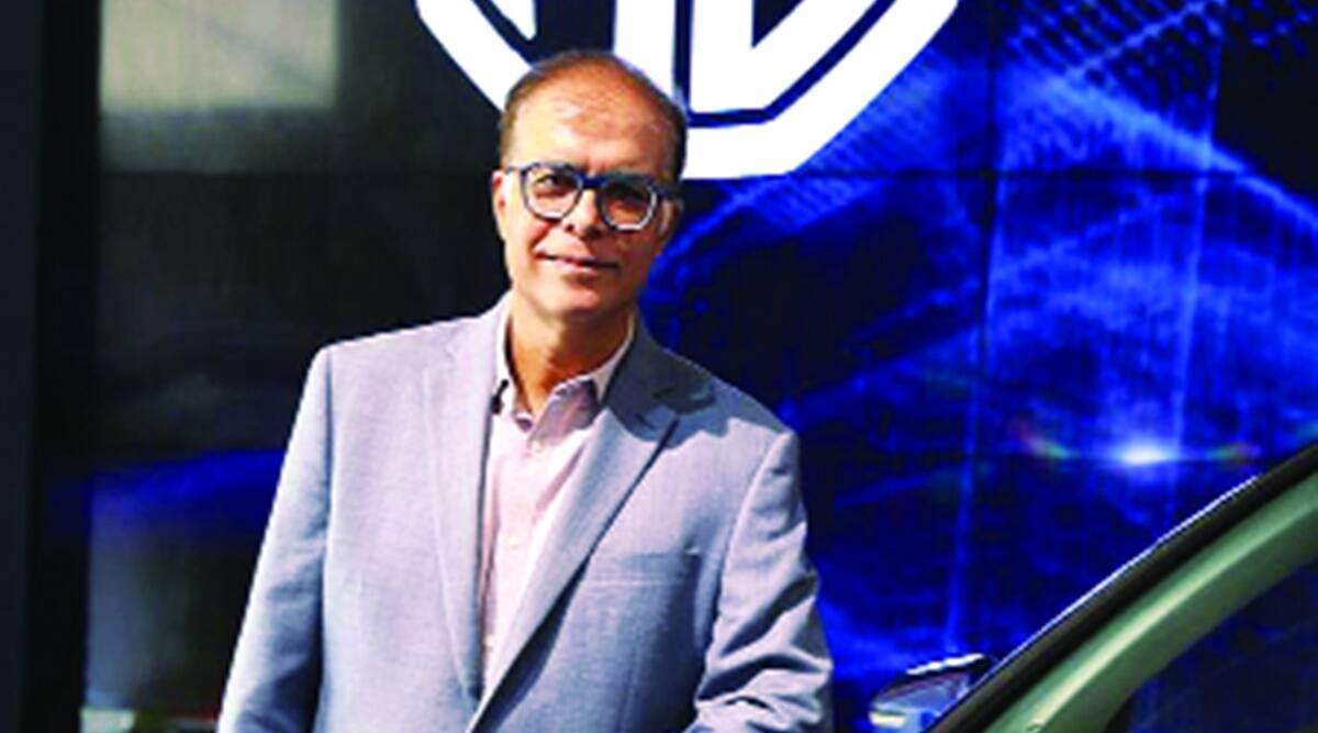 Rajeev Chaba, MG Motor India President, passenger vehicle segment recovery, automobile sector, economy news, Indian express news