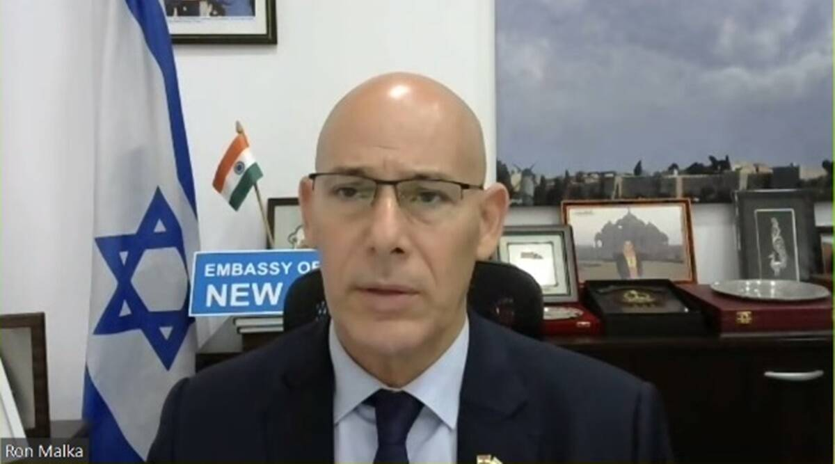 Ron Malka, Israel's ambassador to India, Israel embassy blast, Delhi blast, Delhi news, Indian express news