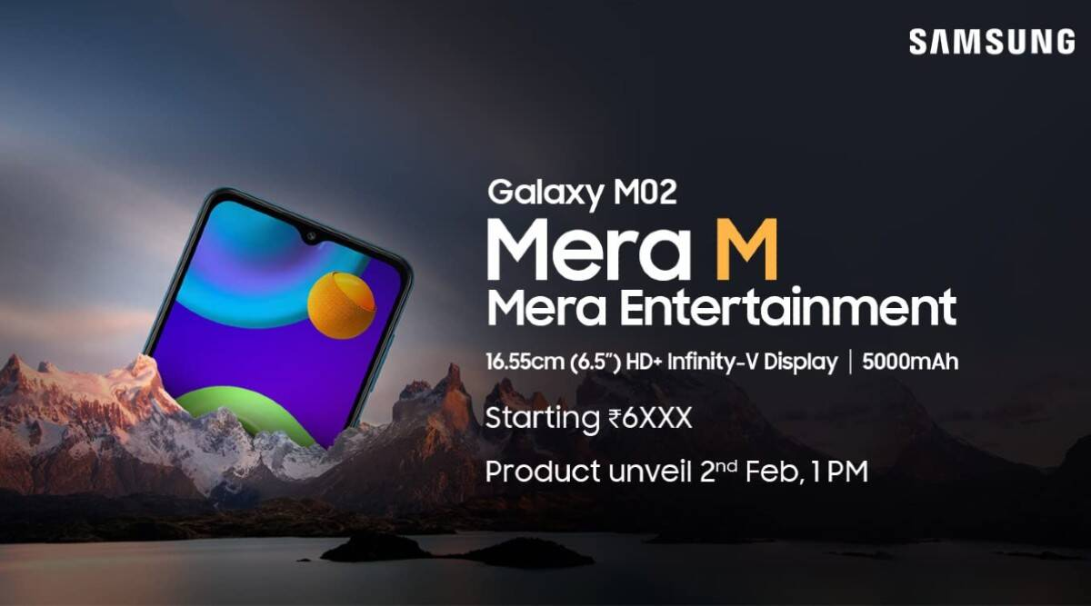 Samsung Galaxy M02, Samsung Galaxy M02 launch, Samsung Galaxy M02 india launch, Samsung Galaxy M02 price, Samsung Galaxy M02 price in india, Samsung Galaxy M02 specs, Samsung Galaxy M02 design, Samsung Galaxy M02 camera, Samsung Galaxy M02 leaks