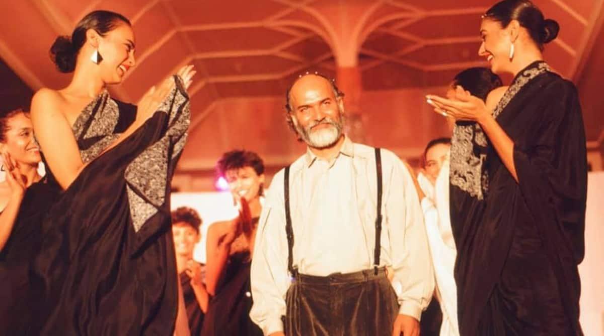 satya paul passes away, RIP Satya Paul, satya paul designer, satya paul saree, satya paul designs, tributes, isha yoga center, sadhguru, indianexpress.com, indianexpress,