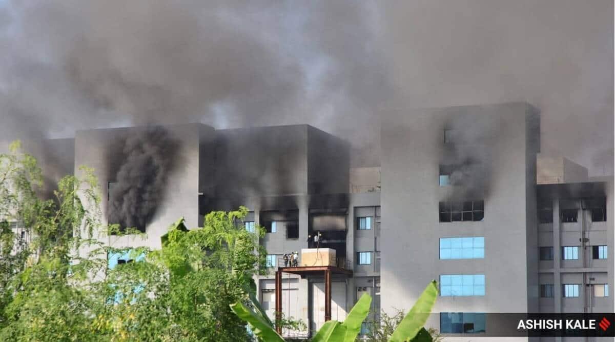 Serum Institute of India fire, Serum fire, SII, Serum Institute fire, Pune fire, Pune police, Pune news, Maharashtra news, Indian express news
