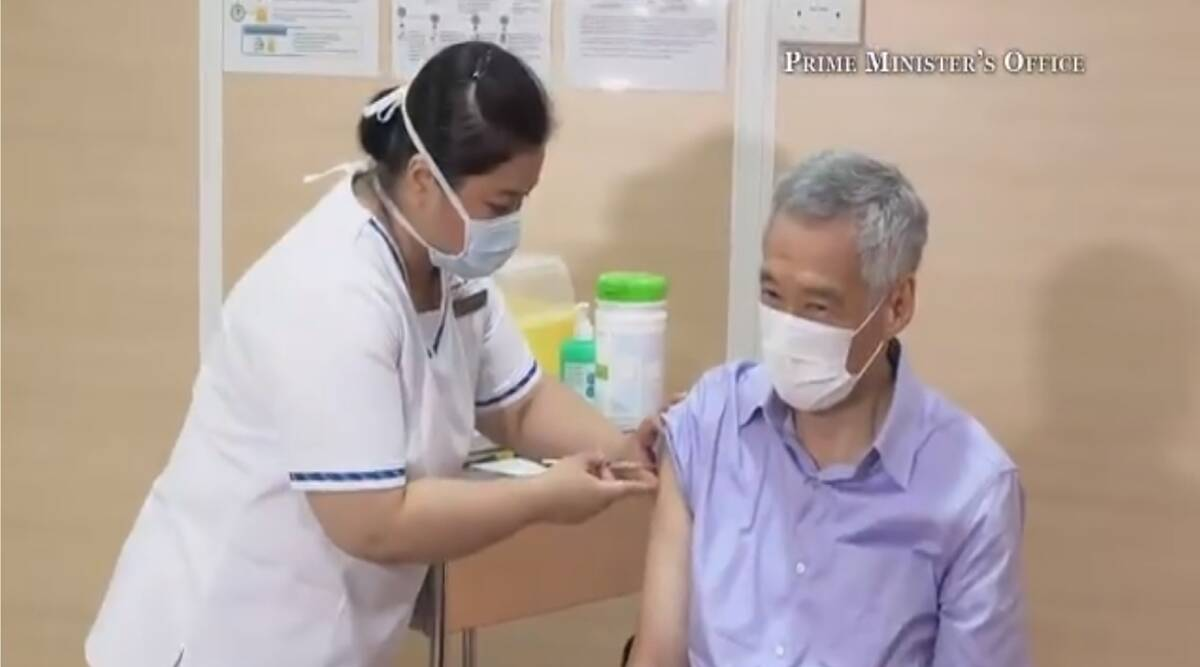 Lee Hsien Loong, Singapore, Lee Hsien Loong COVID-19 Vaccine