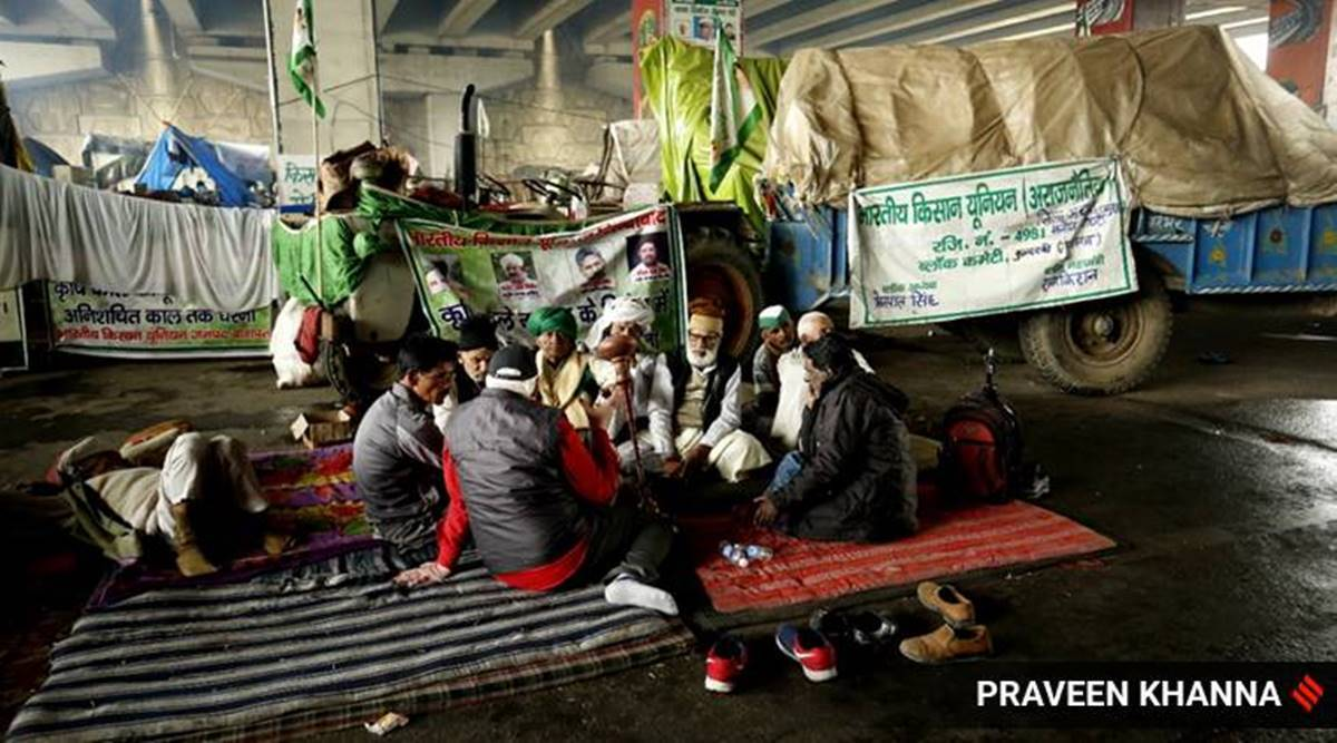 East of Delhi, the other protest: UP's sugarcane farmers awaiting dues