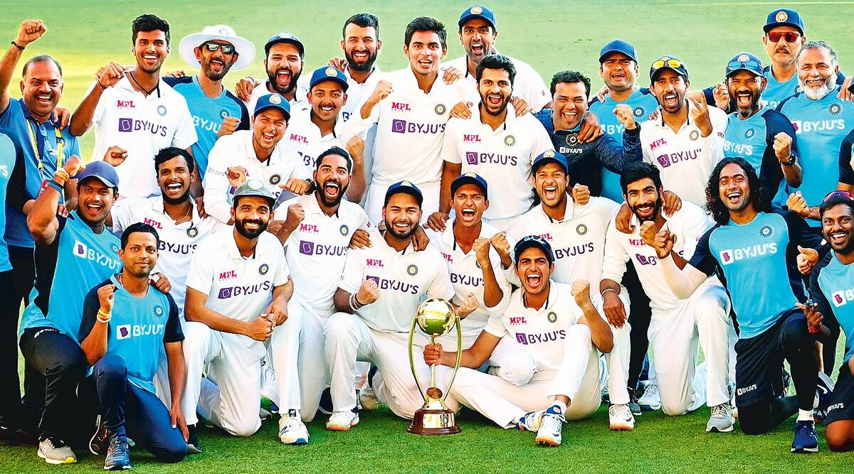 Indian cricket team, Australia tour, Test win in Australia, India cricket win, Ind vs Aus, Indian team, Sports news, Indian express news
