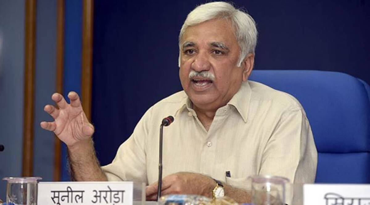 national voters day, mock voting, remote voting, trials for remote voting, election commission, Sunil Arora news, indian express news