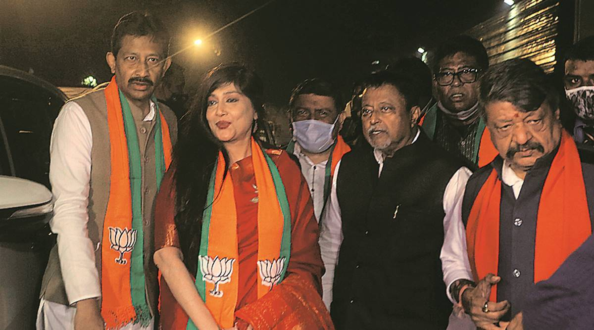 Day after quitting TMC, ex-minister flies to Delhi with rebels to join BJP