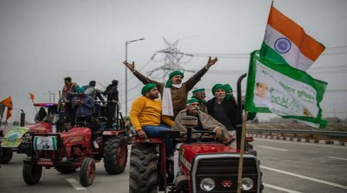 Tractors omnipresent, so is Tricolour: Protesters say one on every vehicle