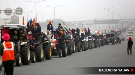 Farmers protest, Farm bill, Farmers rally, farmers tractor rally, farmers republic day tractor parade, India news, indian express news