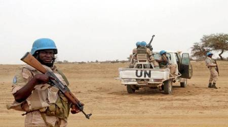 Mali attack, Mali, UN peacekeepers in Mali, UN troops, UN peacekeepers killed, Mali explosion, world news, Indian Express