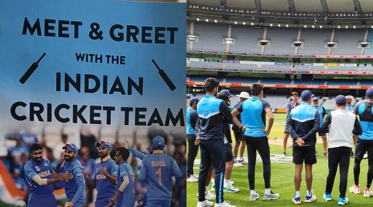 Fake dinner with team india, wine and dine scam with team india