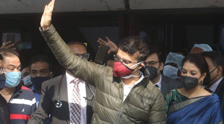 Sourav Ganguly, Sourav Ganguly discharged, Sourav Ganguly released, Sourav Ganguly heart attack, Sourav Ganguly woodlands hospital