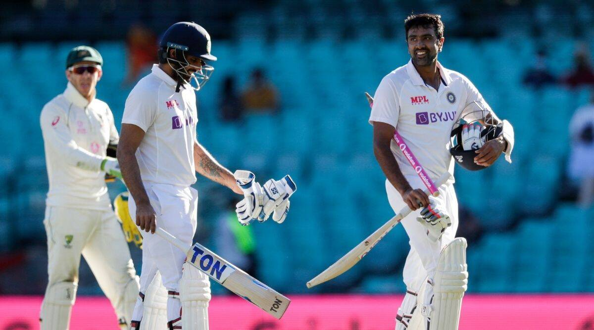Bravehearts Hanuma Vihari, Ravichandran Ashwin hobble towards glorious draw  | Sports News,The Indian Express
