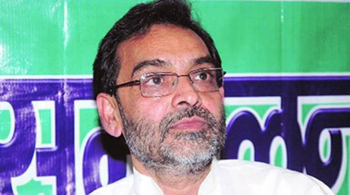 Rashtriya Lok Samta Party, Upendra Kushwaha, Bihar education minister, Nitish Kumar, JD(U), BIhar government, Patna news, Bihar news, Indian express news